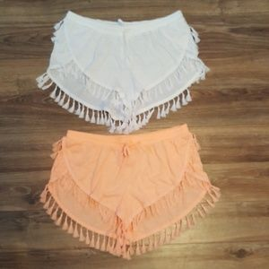 Victoria's Secret Tassel Shorts Cover Up $25 EACH